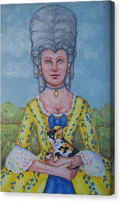 Lady Abigail Canvas Print by Beth Clark-McDonal