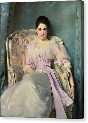 Lady Agnew Of Lochnaw, C.1892-93 Oil On Canvas Canvas Print by John Singer Sargent