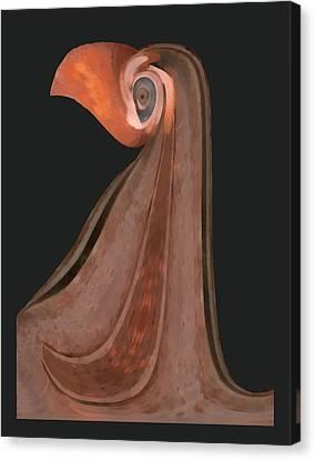 Lady Beaker Canvas Print by Wendy J St Christopher