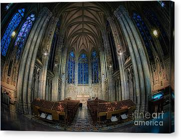 Lady Chapel At St Patrick's Catheral Canvas Print by Jerry Fornarotto