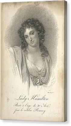 Lady Emma Hamilton Canvas Print