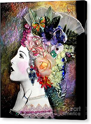Lady Jane Canvas Print by Lamarr Kramer