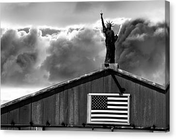 Lady Liberty Canvas Print by Ron White