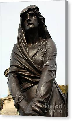 Lady Macbeth In Stratford Out Damned Spot  Canvas Print by Terri Waters