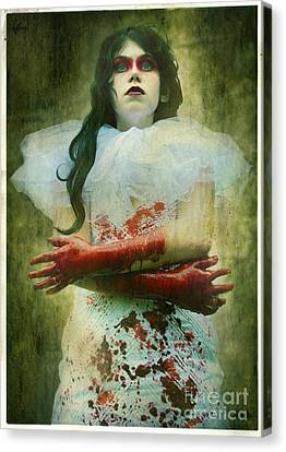 Lady Macbeth's Insanity Canvas Print by Eating Strawberries