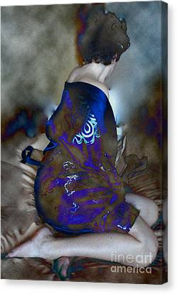 Lady Of Japan Canvas Print