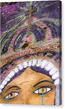 Canvas Print featuring the photograph Lady Of Tears by Steven Bateson