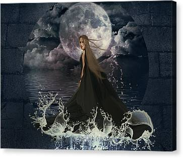 Lady Of The Sea Canvas Print by Ester  Rogers