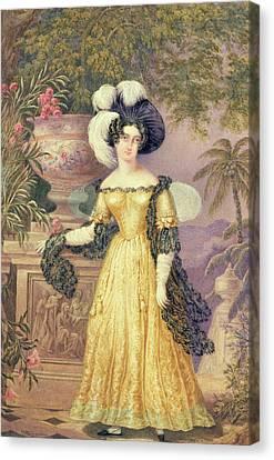 Lady Rowe Canvas Print by Isaac Mendes Belisario