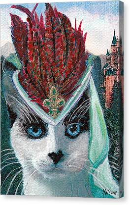 Lady Snowshoe Canvas Print