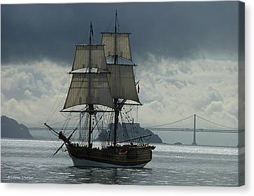 Lady Washington Canvas Print by Sabine Stetson