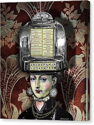 Lady Wurlitzer Canvas Print by Larry Butterworth