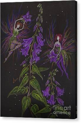 Ladybells Canvas Print by Dawn Fairies