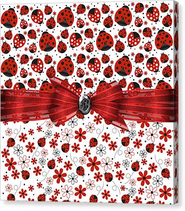 Ladybug Magic Canvas Print