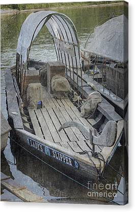 Canvas Print featuring the photograph Ladys Slipper by Pete Hellmann