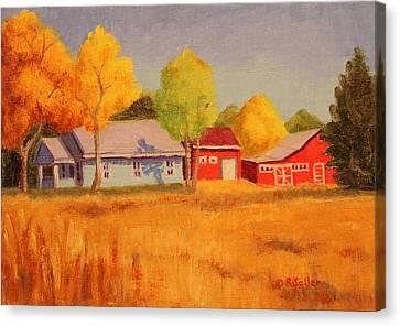 Lafayette Farm  Canvas Print