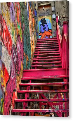 Laffy Daffy Canvas Print by Anthony Wilkening
