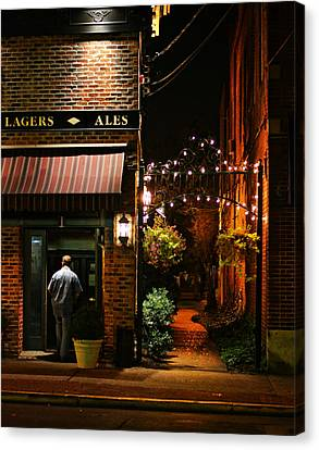 Lagers And Ales Canvas Print by Laura Fasulo