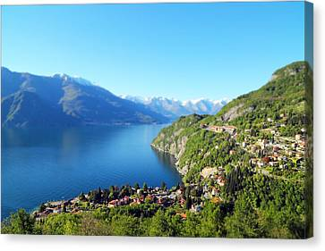 Lago Di Como Italy  Canvas Print by Brooke T Ryan