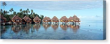 Lagoon Resort, Island, Water, Beach Canvas Print