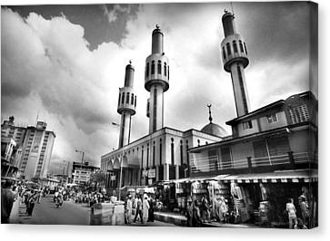 Lagos Central Mosque Canvas Print