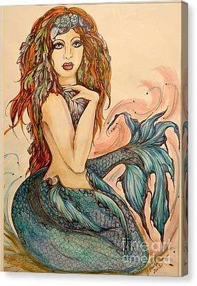 Laguna Blue Canvas Print by Valarie Pacheco