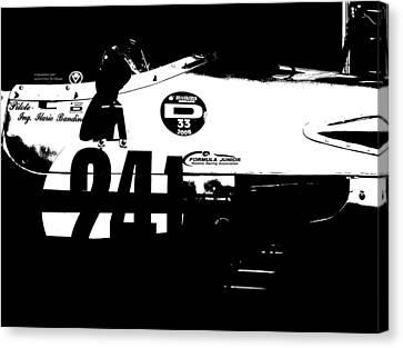 Laguna Seca Racing Cars 2 Canvas Print by Naxart Studio