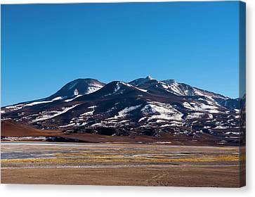 Pedro Canvas Print - Laguna Tuyajto, Atacama Desert, Chile by Sergio Pitamitz