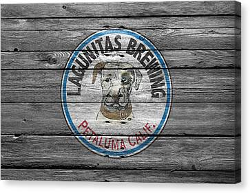 Handcrafted Canvas Print - Lagunitas Brewing by Joe Hamilton