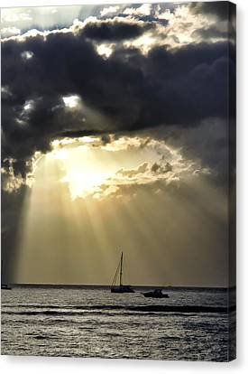 Lahaina Sunset 2 Canvas Print by Dawn Eshelman