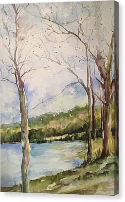 Lake #1 North Little Rock Canvas Print