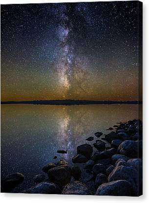 Benton Canvas Print - Lake Benton by Aaron J Groen