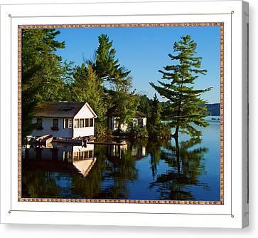 Lake Camps  Canvas Print