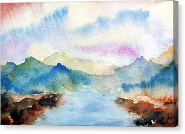 Lake Chuzenji Nikko Canvas Print
