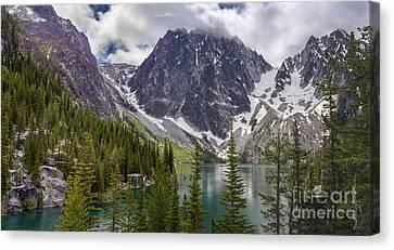 Lake Colchuck Gateway To The Enchantments Canvas Print