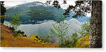 Lake Crescent - Washington - 02 Canvas Print by Gregory Dyer