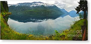 Lake Crescent - Washington - 03 Canvas Print by Gregory Dyer