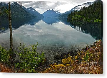 Lake Crescent - Washington - 04 Canvas Print by Gregory Dyer