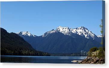 Lake Cushman - Olympic National Forest Canvas Print