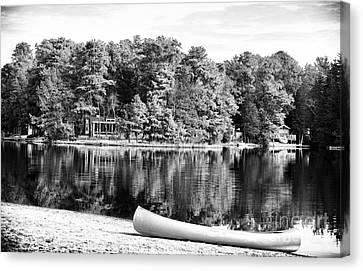 Lake Day Canvas Print by John Rizzuto