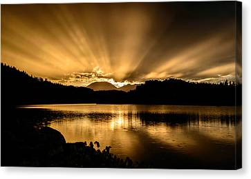 Lake Dillon Sunset Canvas Print