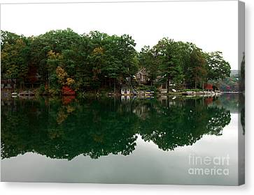 Lake Erskine Canvas Print by John Rizzuto