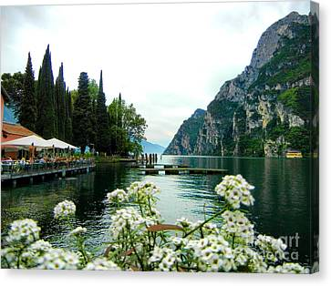 Lake Garda Canvas Print by Mariola Bitner