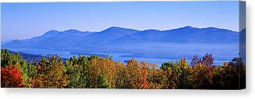 Lake George, Adirondack Mountains, New Canvas Print by Panoramic Images