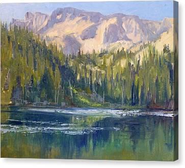 Lake George Canvas Print