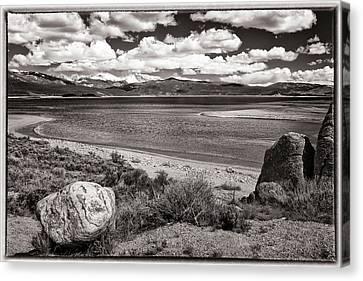 Mountian Canvas Print - Lake Granby by Joan Carroll