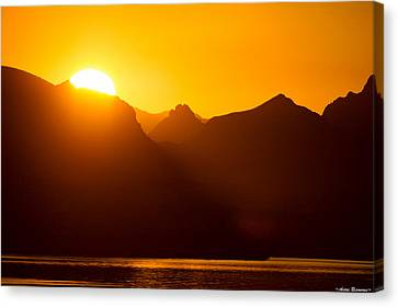 Lake Havasu Sunrise 2 Canvas Print by Avian Resources
