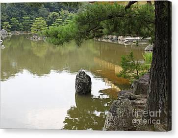 Lake In Japan Canvas Print by Evgeny Pisarev