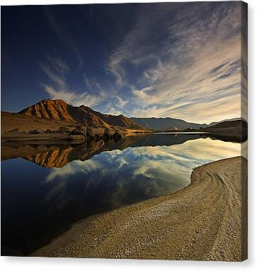 Canvas Print featuring the photograph Lake Isabella  Mg_8082 by David Orias