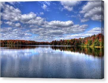 Lake Jean Canvas Print by David Simons